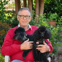 flemming med hans to hunde
